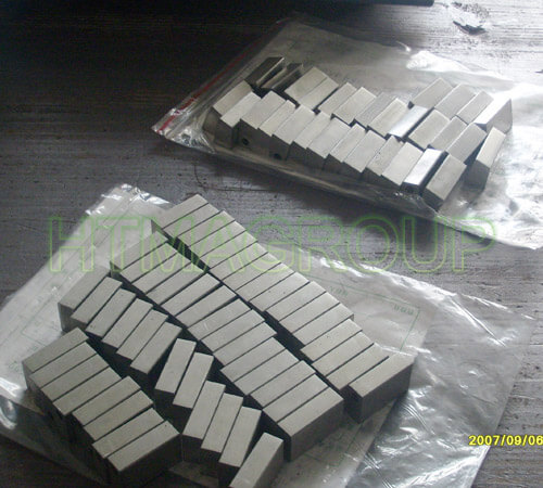 silver carbon brush blocks