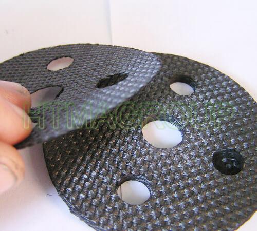 2D carbon composite profile