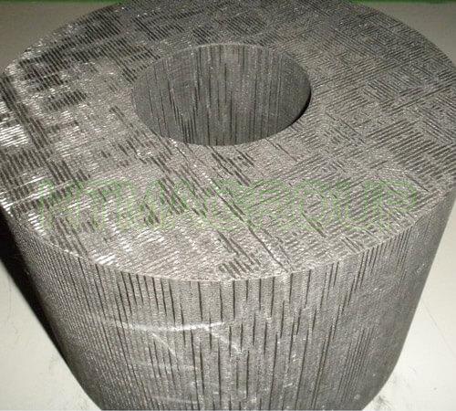3d carbon composite round