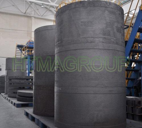 carbon carbon composite insulation barrel