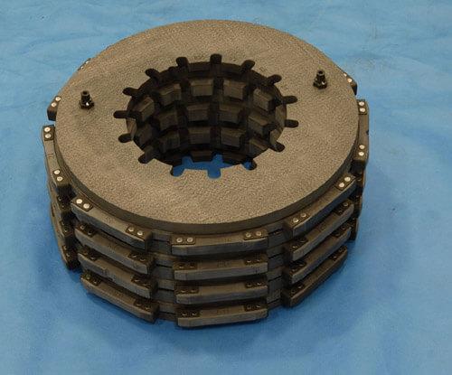 carbon carbon brake pair