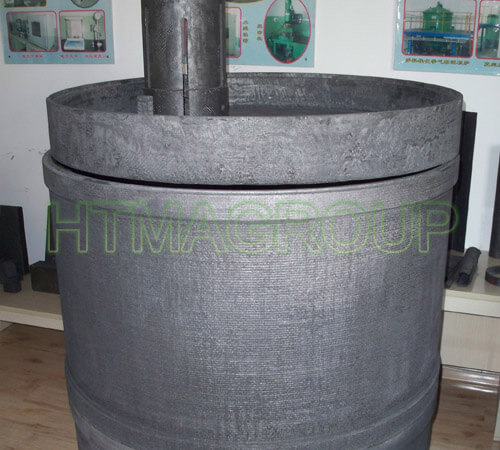 insulation graphite barrel
