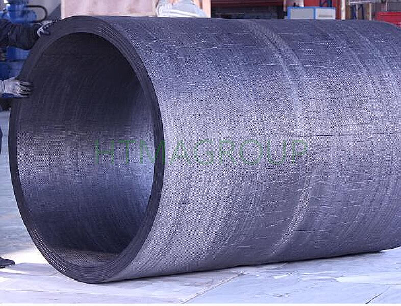 heat insulation graphite barrel