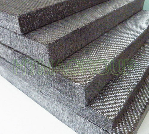 Pan rigid graphite felt