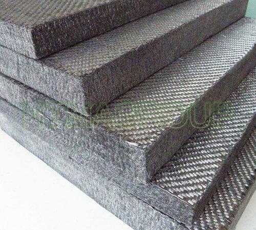 Pan rigid graphite felt
