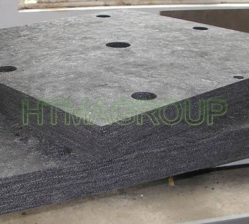 rigid graphite felt part