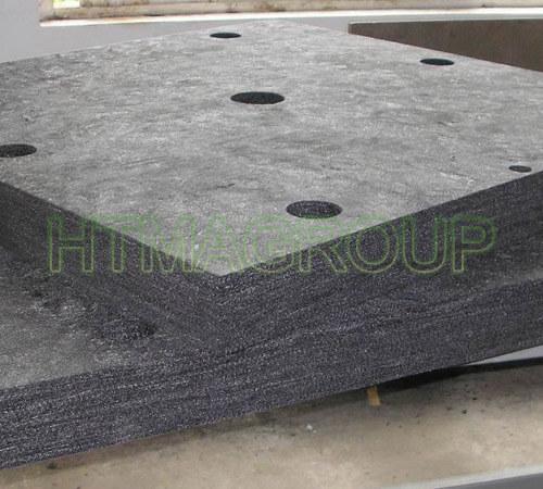 rigid graphite felt part