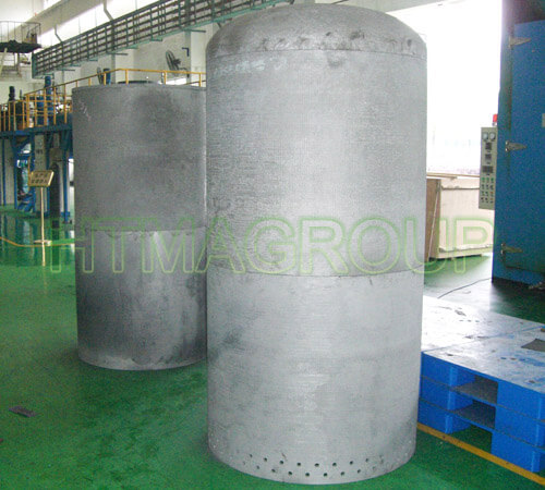 thermal field carbon composite barrel