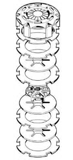 Tilton 3plate carbon-carbon clutch