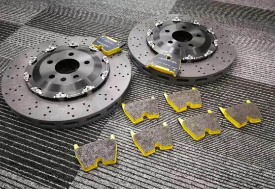 carbon ceramic composite (C-SiC) brakes for racing car-2